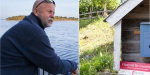– Vi lustläste avtalet och sa till alla att de skulle ligga lågt, säger Lars-Gunnar Tjärnquist ordförande i Arholma intresseförening