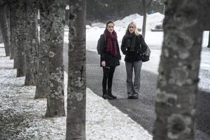 Anna och Linnea.