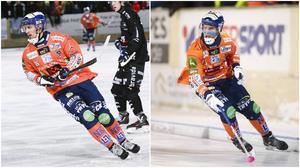 Anders Spinnars och Samuli Helavuori åkte på smällar i den första kvartsfinalen mot Edsbyn.