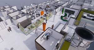 Exempel på inomhusmiljön på Avesta lasarett. Foto: Sweco Architects AB