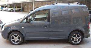Här är den bil som polis och åklagare menar användes av 23-åringens kompis för att köra honom från brottsplatsen. Bild ur polisens förundersökning.
