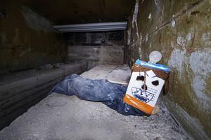 Så här såg det ut när ST för fyra år sedan fick tillgång till de avstängda utrymmena i Stadshusets källare.