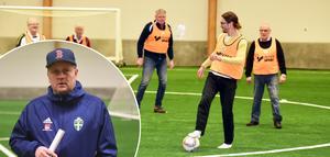 I onsdags var det premiär för gåfotboll i Örnsköldsvik.