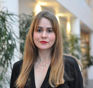 Josefine Gröndahl, pressinformatör vid Trafikverket.Bild: Privat