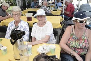 Mona Lodin, Gertrud Olsson och Margot Larsson var några av dagens besökare.