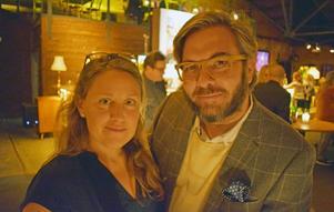 Marie Almroth och Daniel Wetterskog.
