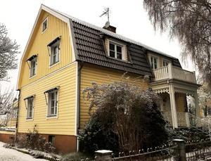 Nummer 10. Villan på Kristiansborg är inte såld än.