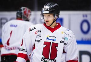 Carl Gunnarsson gjorde tio matcher i Örebrotröjan under lockouten 2012/13. Foto: Joel Marklund/BILDBYRÅN