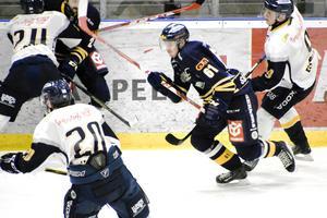 Borlänge föll med 5–4 mot Vimmerby efter sent avgörande.
