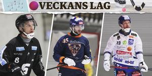 Erik Säfström, Christoffer Fagerström, Johan Löfstedt.