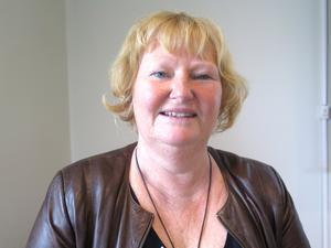 Regionrådet Marie-Louise Dangardt, S, vill inte säga något om de  förestående sparåtgärderna.