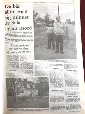 Mördade Elon Petterssons son Stig Pettersson och dennes morbror Arne Pettersson i SA den 4 maj 1995.