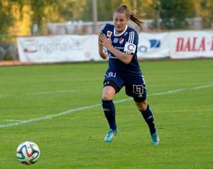 Denise Sundberg stod för ett mycket fint 2–0-mål (Arkivbild)