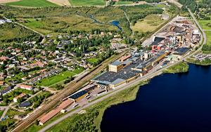 Stora Ensos bruk i Fors. | Foto: Stora Enso