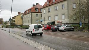 De två husen på Hammarbygatan ska rivas och ge plats för ett höghus med runt 40 lägenheter.