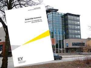 Revisionsrapporten om stadshusets relation till den ekonomiska föreningen Södertälje City i samverkan är klar.
