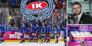Oskarshamn har hittat en väg till att bli en av hockeyallsvenskans bästa klubbar. Klubbchefen Martin Åkerberg berättar om strategin som ligger bakom. Foto: Bildbyrån