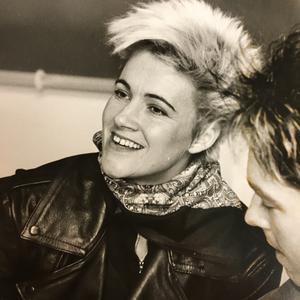 Marie Fredriksson i Östersund 1988. Foto: ÖP:s arkiv.