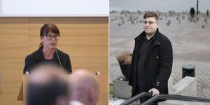 Beata Milewczyk, gruppledare, och Joachim Hagström, ordförande, har ännu inga besked om eventuella konsekvenser efter Marius Kaweckis uttalande om muslimer och kristna.