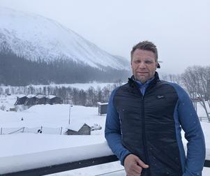 """Rickard Svedjesten, vd för Snowlodge Sweden, har träffat bolagets ägare Roger Samuelsson en gång. """"Jag bryr mig bara om turismverksamheten"""", säger Rickard Svedjesten. Foto: Pressbild."""