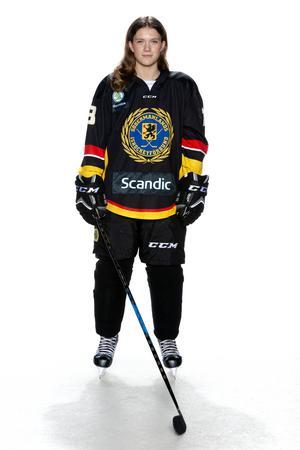Foto: Lars-Åke Johansson/Södermanlands  Ishockeyförbund. Amanda Eriksson.