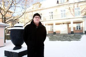 Fastighetsägaren Robert Östman, Falun, vill ha sagt att Åhléns betalar inga skyhöga hyror för sina lokaler i Ludvika.Foto: Daniel Patino Flor