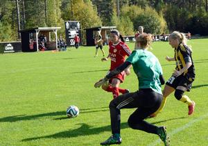 Sofia Lagerström är tillbaka i Gustafs efter ett år i elitettan.