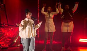 Seinabo Sey vann pris för Årets album och Årets textförfattare på Grammisgalan 2019.