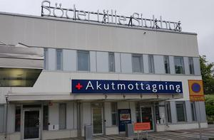 Södertälje sjukhus inviger i dag ännu en nybyggd enhet. Foto: Elias Zazi