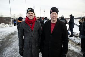 Per Nylén från Själevad och Kristoffer Park från Mellansel.