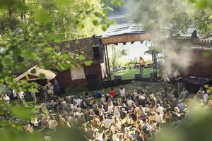 Gagnef-festivalen i Ängsholns folkpark har blivit listad som en av världens bästa festivaler av sajten Festicket. I helgen arrangeras den för sista gången. FOTO: Per Eriksson