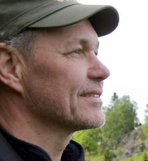Kalle Sundström såg den sällsynta fågeln på Landsort i söndags.