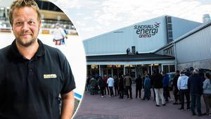 Roger Magnusson jobbar med SCA-cupen. Nu är spelschemat spikat och biljettförsäljningen drar igång.