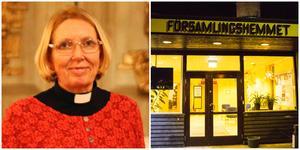 """Karin Karlberg har fullt upp med sitt tillfälliga uppdrag i Järna-Vårdinge pastorat. Men hon ångrar inte att hon tog på sig uppgiften. """"Där är fullt av goda ambitioner"""", säger hon."""