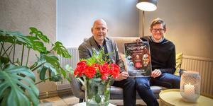 Tomas Hallström och Jakob Freiman, båda pastorer i Pingstkyrkan Södertälje, kommer vara konferencierer på julkonserten som anordnas den 8 december till förmån för Julkassen.