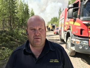 Pärra Jönsson, yttre befäl, räddningstjänsten.