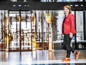 V:s EU-parlamentariker Malin Björk valdes in 2014 och står etta på V:s valsedel inför EU-valet den 26 maj.