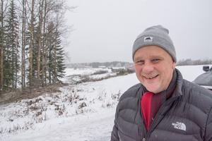 Jan Bolin är mc-entusiast och en av de nyaste inflyttade i Nyby.