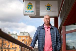 Christer Löw ledde de uppemot femtiotalet poliser som utredde mordet på Tova Moberg.