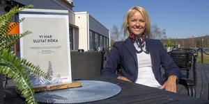 Sophie Helin, hotelldirektör på Scandic i Bollnäs, har redan infört rökförbud på sin uteservering.