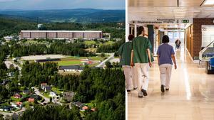Alfred Jansson saknade en förståelse för personalen på Sundsvalls sjukhus i Bo-Göran Widmans replik. Bilder: Jan Olby / Ludwig Arnlund