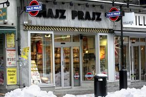 2010 öppnade Najz Prajz ytterligare en affär, en skivoutlet, på Storgatan. Foto: Eric Fiedler
