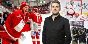 Victor Brattström visar vägen för Timrå genom att bli först att skriva nytt kontrakt med klubben efter degraderingen. Foto: Bildbyrån