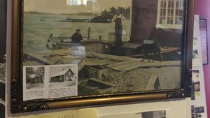 Båthuset i Skeppshusviken var något av ett nav på 1930-talet och några årtionden framåt när fiskenäringen var på topp.