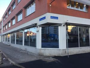 Slink Ins nya lokaler på Nybrogatan.