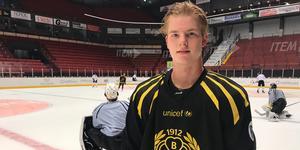 Victor Söderström är laddad inför NHL-draften i Rogers Arena i Vancouver på midsommaraftonskvällen kanadensisk tid.