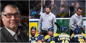 Mats Pernhem, Ulf Lundberg och Dennis Bozic har ägnat veckorna sedan säsongsslutet åt att, bland annat, utvärdera organisationen. Foton från Bildbyrån.