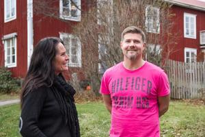 Katarina Hansson och Henrik Nordin har länge chefat på Lindalen, men tar nu över som ägare.