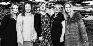 Krokoms Växtkraft: Susanne Kvarnlöf, Anna Olofsson Frestadius, Sara Swedenmark, Jenni Skarp Andersson, Kristina Ernehed.