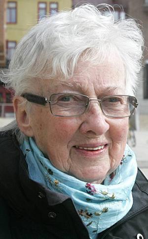 Mai Sjödin, 81 år, Frösön:– Ja, jag tycker det. Vi bor ju här. Då får man väl betala för det, eller sota för det. Men jag har inte tålamod att titta på fotboll. Inte på ishockey heller.